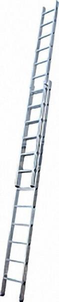 Schiebe-Leiter Arbeitshöhe 4, 70 bis 7, 15 2x12 Sprossen