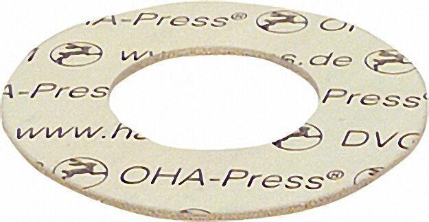 Dichtungen asbestfrei 35 x 70mm DN 25 PN 10/16/40 VPE: 1 Stück