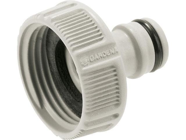 Hahnverbinder 26,5mm (G3/4)-Wasserhahn mit 33,3mm (G 1)-Gewinde