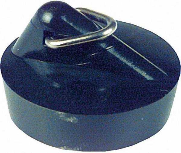 Ventilstopfen mit Dreieckbügel oberer f 40,5mm Spülbeckenventil schwarz