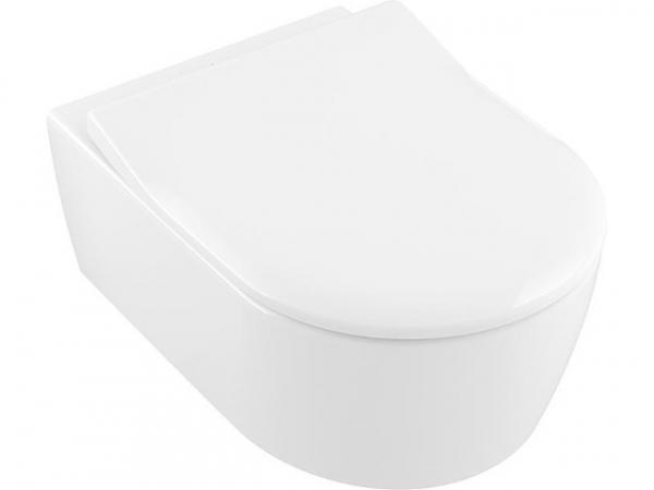 Combi-Pack V&B Avento Wandtiefspül-WC und WC-Sitz Slim- Seat Sofclose, weiß
