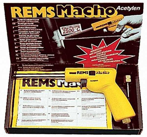 REMS Macho Lötpistole Handlötpistole für Hart- und Weichlöten für Rohre bis 64mm