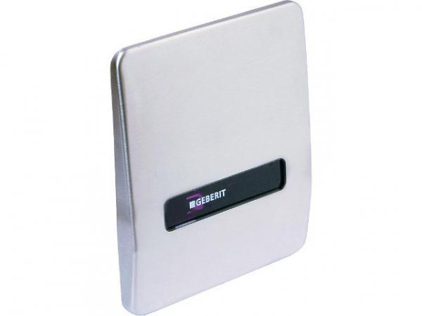 Geberit Abdeckplatte aus Chrom- stahl mit Austauschset IR Ref.Nr.240.841.00.1