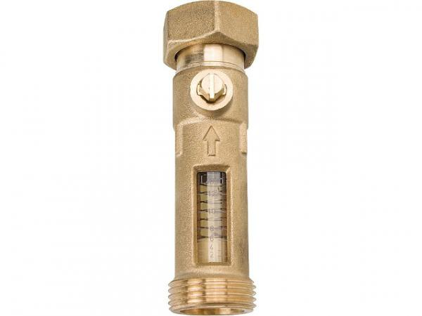 Durchflussmesser Aussengewinde 1''xÜWM 1'' Durchflussmenge 8-28 l/min