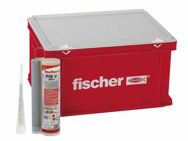 Fischer 41835 Hochleistungsmörtel FIS V 360 S Handwerkerkoffer groß VPE 20 Stück