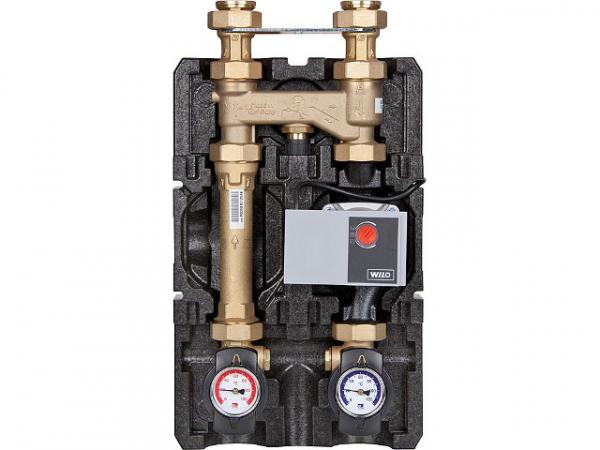 PAW Festbrennstoffladeset K36 Heat Bloc DN25(1') 60°C mit Bypass Wilo Yonos Para RS 25/6