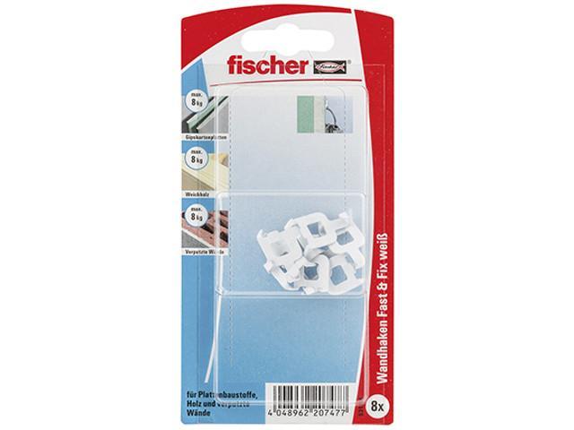 Fischer 531116 Fast&Fix weiß VPE 8 Stück