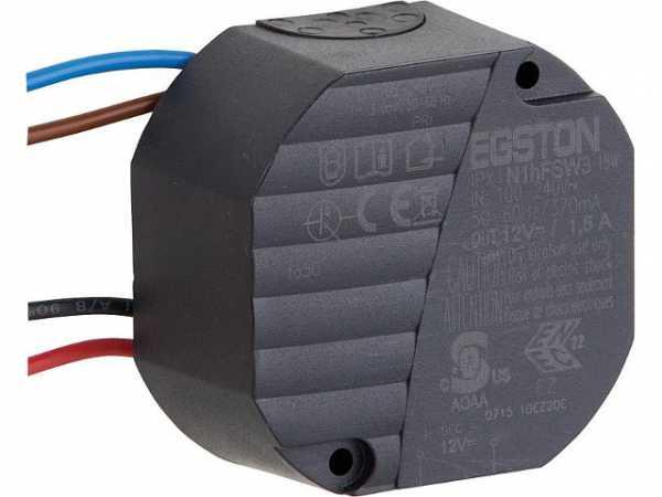 Lunos 039973 Netzteil zu Universalsteuerung Eingang 230VAC Ausgang 12VDC