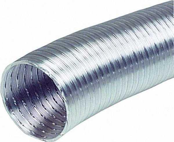 Flexibles Lüftungsrohr NW 125 ALF 5 m hitzebeständig bis 200°C