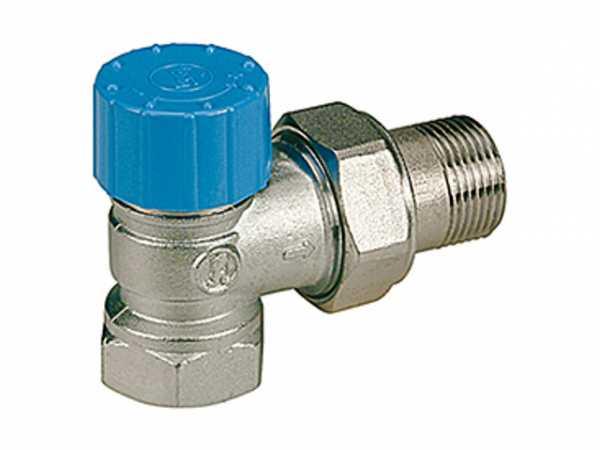 Giacomini R401H Thermostatventil Eckform Anschlussgewinde 30x1,5