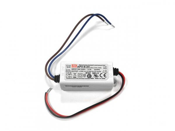SWITCHING POWER SUPPLY - SINGLE OUTPUT - 8 W - 24 V