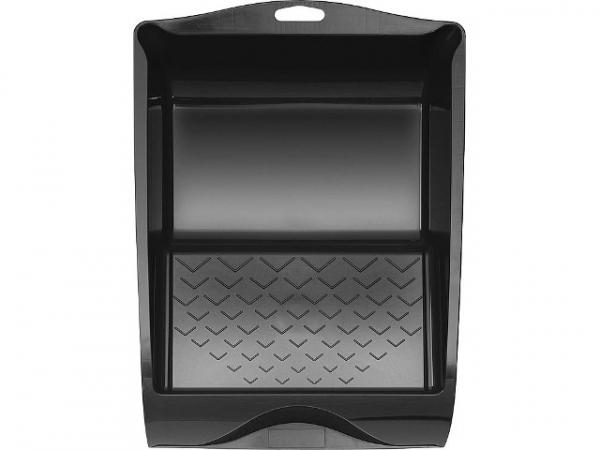 Farbwanne 15x23 cm Kunststoff schwarz