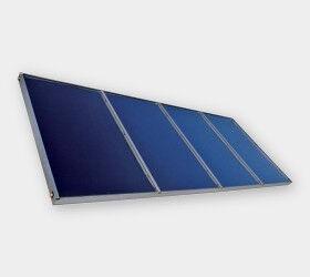 VIESSMANN 7439235 Vitosol 200-F 5m² Typ 5DIA Flachkollektor mit Sol-Titan-Beschichtung