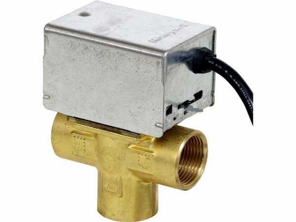 HONEYWELL Dreiwegezonenventil V 8044 C 1065 B, mit Handver Stück 1'', 24 V, 50/60 Hz, 6 W