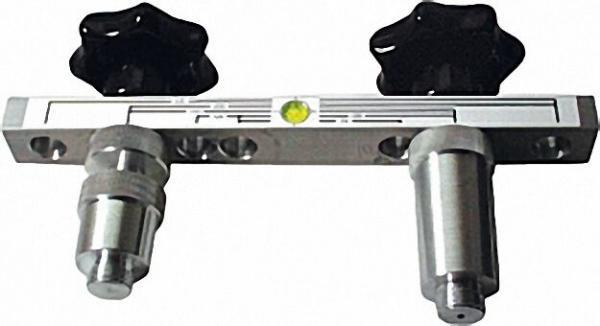 Montageanschlusslehre Typ MAL mit Tiefenausgleich aus Aluminium