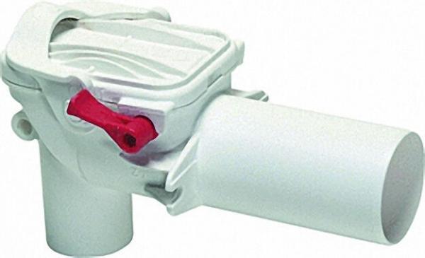 KESSEL 73051 Rückstauverschluss Staufix Siphon aus Kunststoff DN50