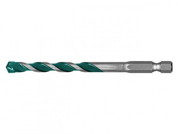 Mehrzweckbohrer HELLER® ALLMATQuickbit Ø8,0x120/70 mm mit Sechskantschaft