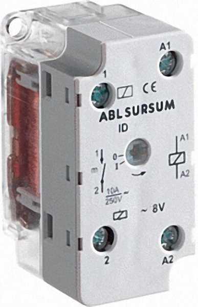 Fernschalter Doseneinbaugerät 10A - 250V 230V