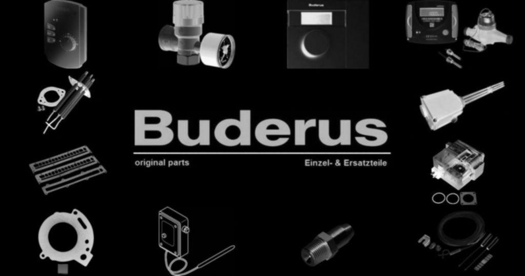 Buderus 87185320860 Kugelhahn DN32 Pumpe