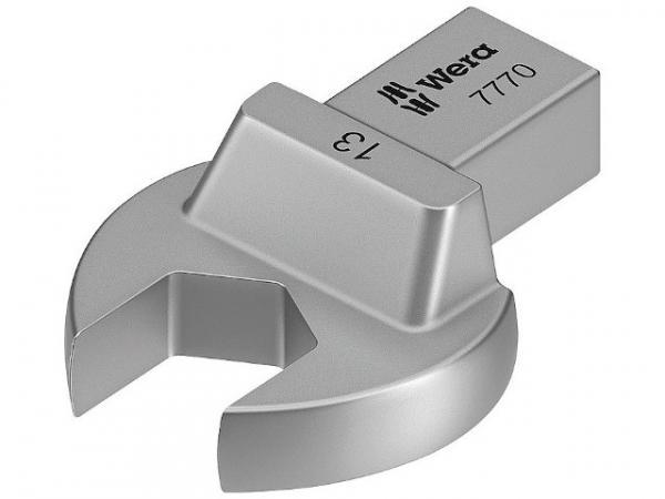 Einsteck-Maulschlüssel WERA Vierkant 9x12mm, Form B, SW 17