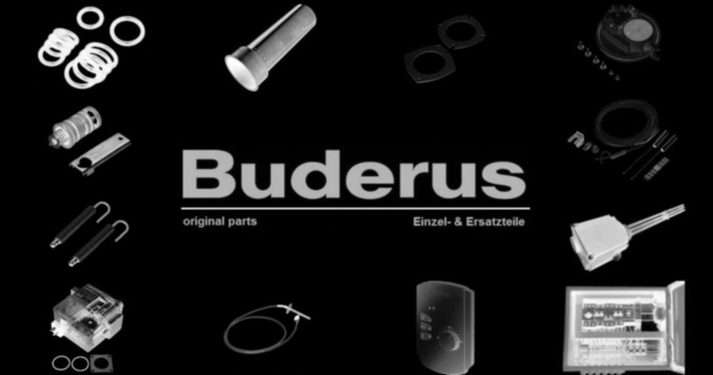 Buderus 5947712 Schraube DIN7500 C M4x16 ST A3K