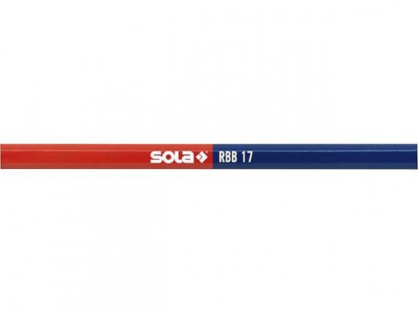 Bleistift Sola RBB17 170mm, rot-blau