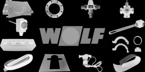 WOLF 2484720 Verkleidung-Mantel SE-2-200, Weiß W