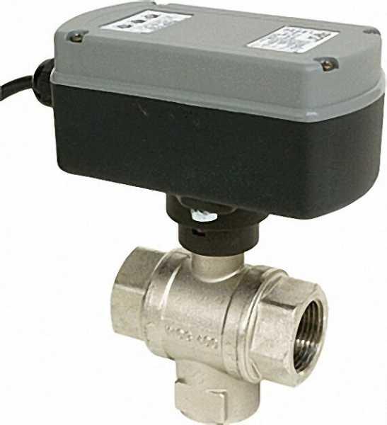 3/2 Wege Elektro-Kugelventil Typ EMV 110 Serie 710 1'', L Durchfluss mit Relais