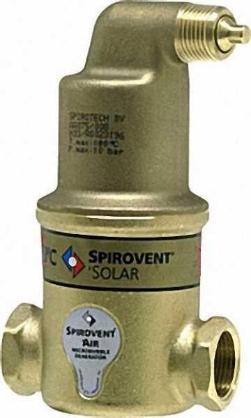 SPIROTECH Spirovent `luft SOLAR 1 1/4''