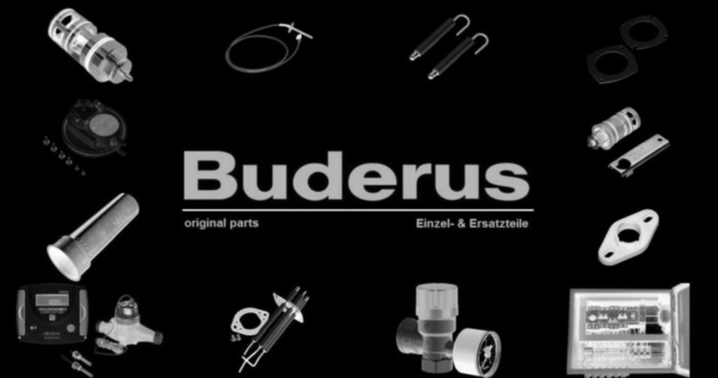 "Buderus 87182257370 Reduzierstück 1/2"" x 3/4"