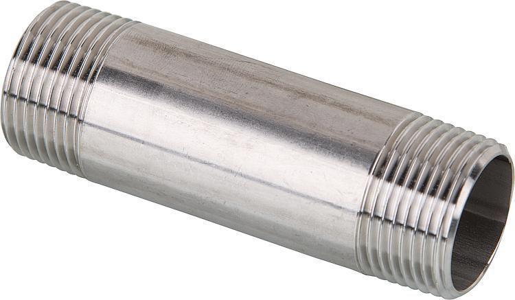 """Rohrdoppelnippel, Größe DN 40 (1 1/2"""") Länge 200 mm"""