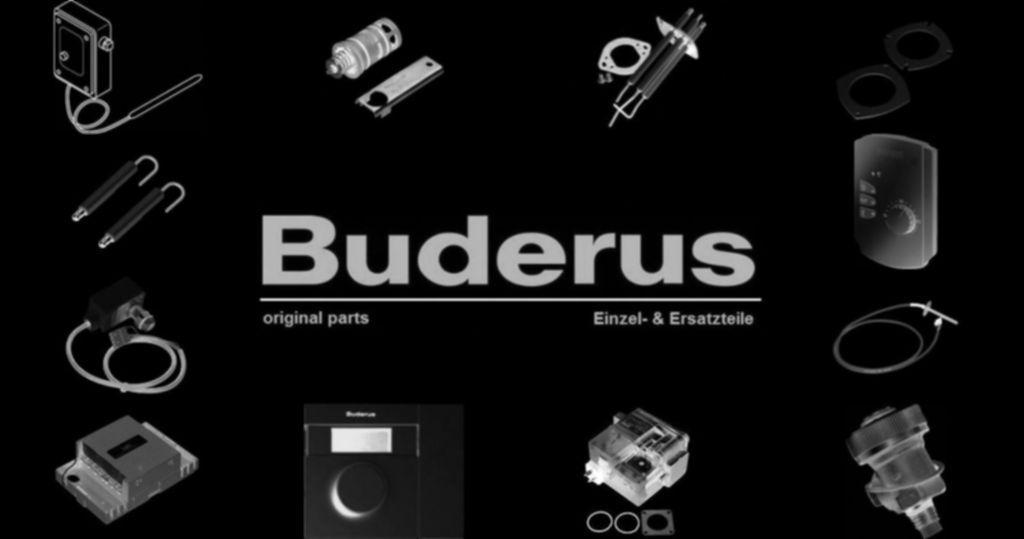 Buderus 7079252 Anschlussleitung Überwa Mg-Anode 3100lg