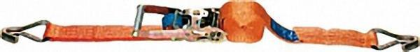 Verzurrgurt, Zweiteilig DIN 60060 / VDI 2700-2702 Orange, Gurt 50mm, Länge 8,0m