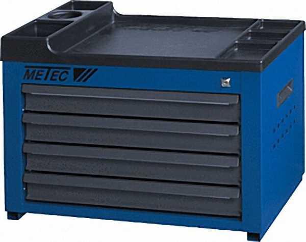Werkzeugtruhe Farbe: blau HxBxT 403x627x410mm mit 4 Schubladen (M)