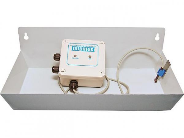 Leckerkennungssystem LS 2 Auffangwanne mit Sensor für Parallelbetrieb zum Brenner