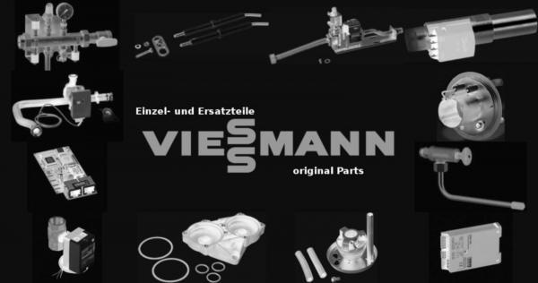 VIESSMANN 7839640 Zeigerthermometer rot Ø51 Tauchschaft Ø7