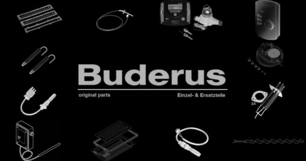 Buderus 87185436330 Ventil mit Schwerkraftbremse everp