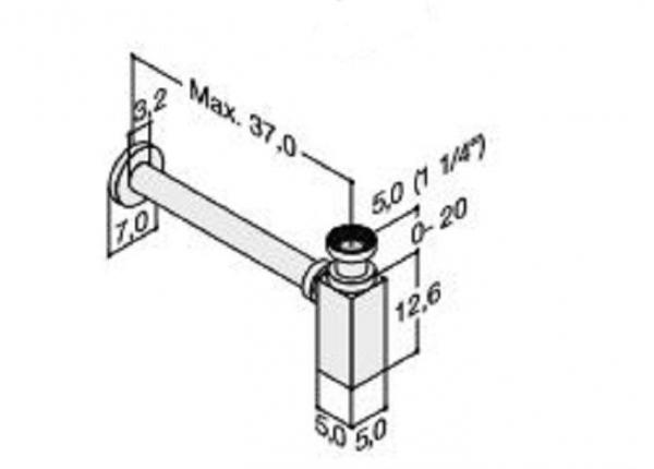 DANSANI 4881243 Design Sifon