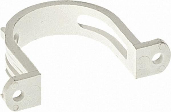 Rohrhalter mit Kabel-Clip, Zubehör für Zentralstaubsaugeranlage