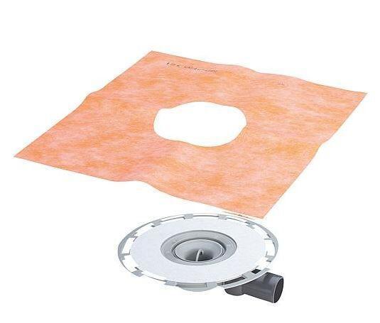 VIEGA Badablauf 4938 aus Kunststoff grau
