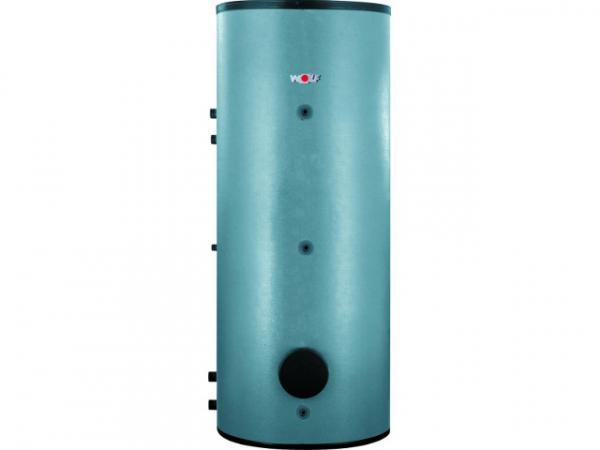 Wolf Warmwasser-Ladespeicher SEL-800 aus Stahl mit Emaillierung