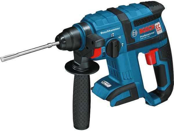 BOSCH Akkubohrhammer GBH 18V-EC Professional, SDS-Plus, ohne Akku+Ladegerät