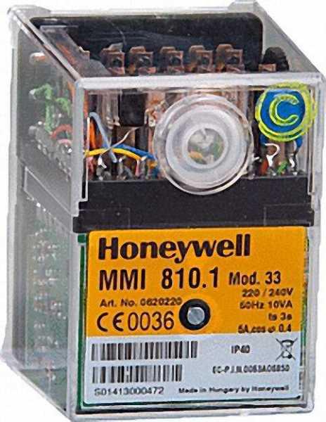 HONEYWELL Relais SatronicmmI 811.1 Mod. 63 Nachfolger vonmmI 811 Mod. 63