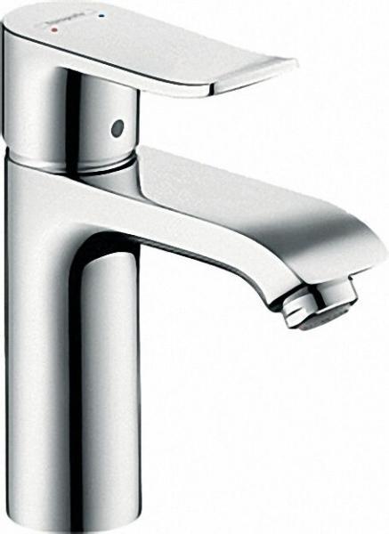 Einhebel-Waschtischmischer Serie Metris ohne Ablaufgarnitur ComfortZone 110, chrom