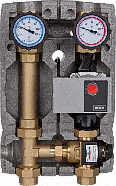 Festwertregelungsset für FBH Einstellbereich 20-43°C mit Wilo Y