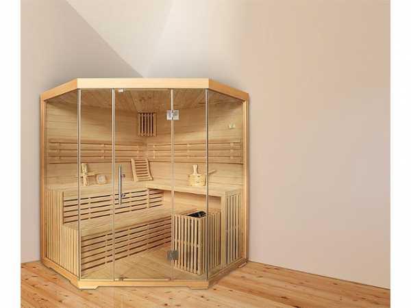 Sauna Elysi, Hemlocktanne, mit Sternenhimmel