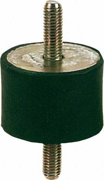 Gummifeder Typ A 40 x 30mm, AG/AG M 8 x 23mm