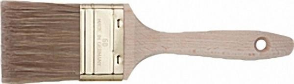 Pr. Flachpinsel 40mm Orel-Mix-Borste, Messingblech