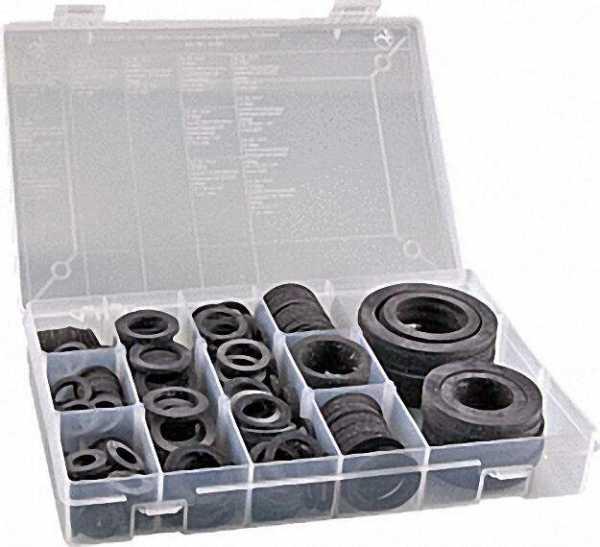 Gummi-Verschraubungsdichtungs- Sortiment Gesamtinhalt:295 Stück