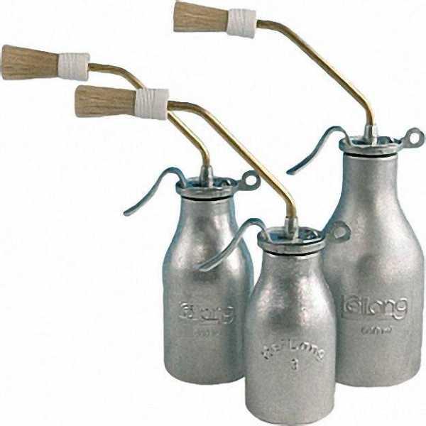 REILANG Pinselöler mit Einzelpumpenwerk Inhalt 200ml Behälter aus Aluminium